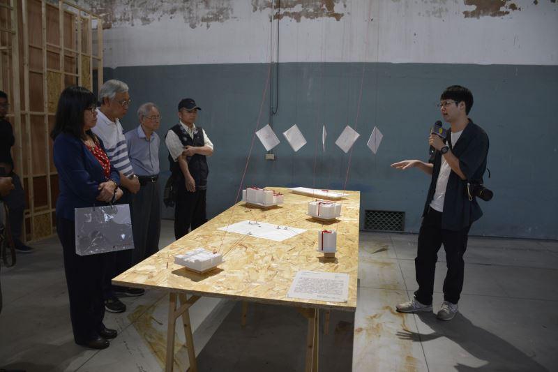藝術家田倧源導覽