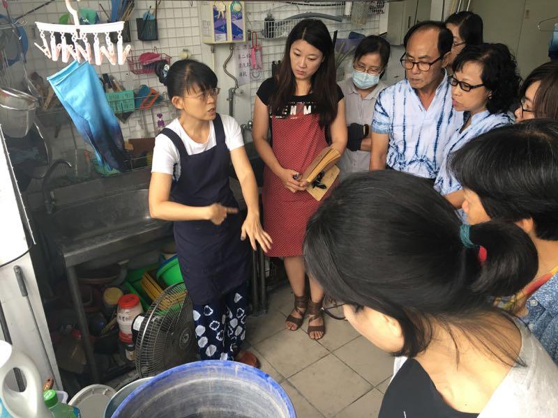 藍染縫紮工藝教學