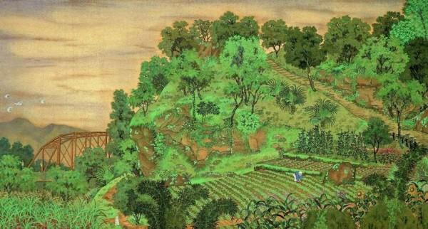 1928 | Scenery Near Yuan Shan (圓山附近)