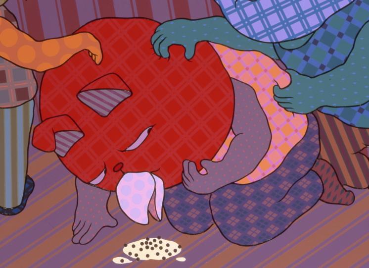廖堉安〈超難喝的珍珠奶茶 No.1〉 局部圖