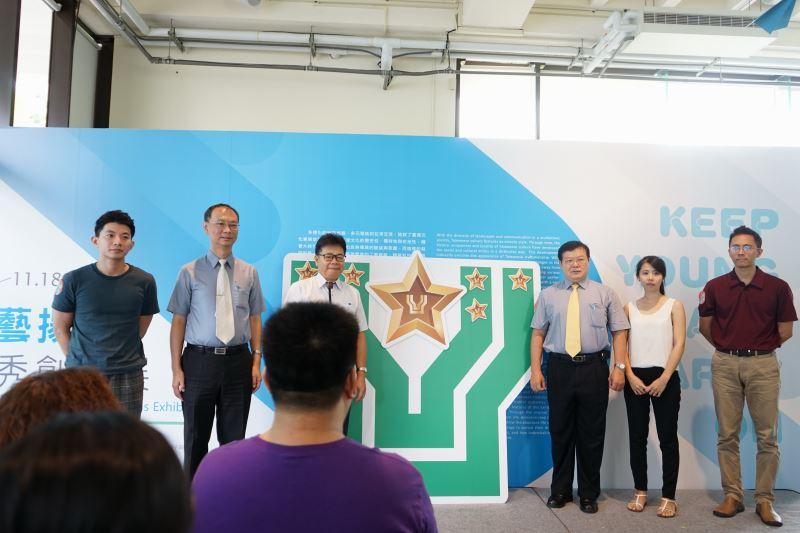 工藝中陳泰松副主任(左三)與參與貴賓共同參與開展儀式