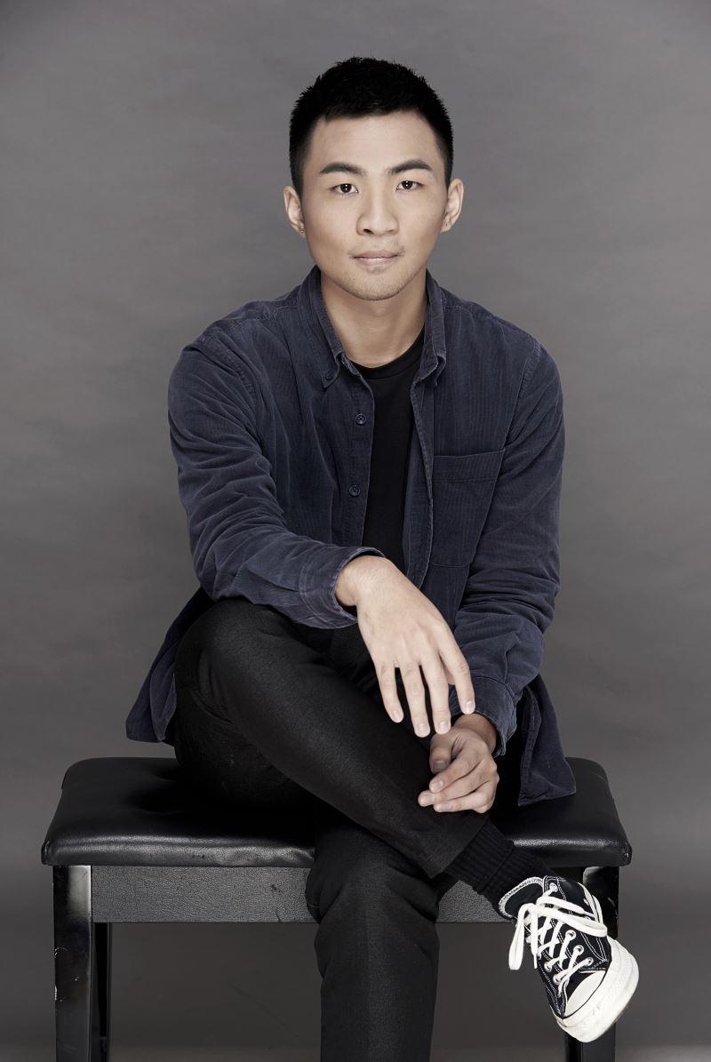 圖1:張智堯是2019年臺灣國樂團舉辦的《菁英爭揮》青年指揮選拔冠軍。