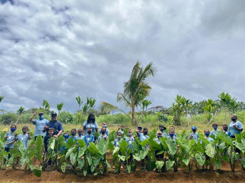 史前館與夏威夷的Kamehameha 學校(以下稱卡美哈美哈學校)辦理跨國論壇,交流內容將圍繞在樹皮布、芋頭及海洋環境