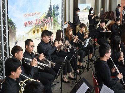 中國文化大學銅管及木管演奏