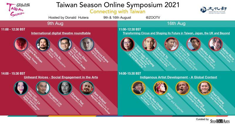 《臺灣季論壇「Connecting with Taiwan」》節目單