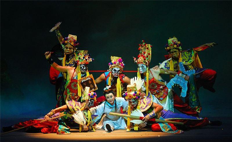 《蓬萊大仙-國際版》演出照片(孫翠鳳飾李玄)(1987)