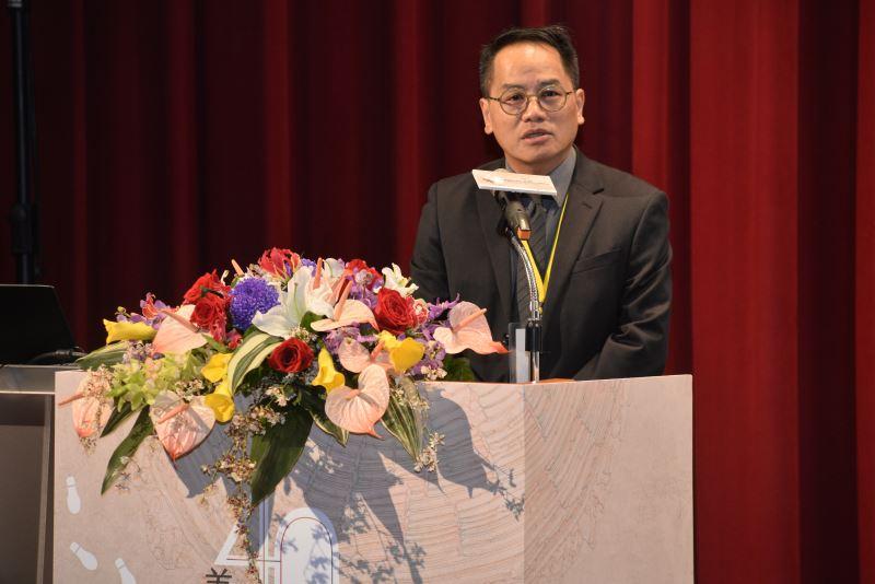 Deputy Minister of Culture Peng Chun-heng (彭俊亨).