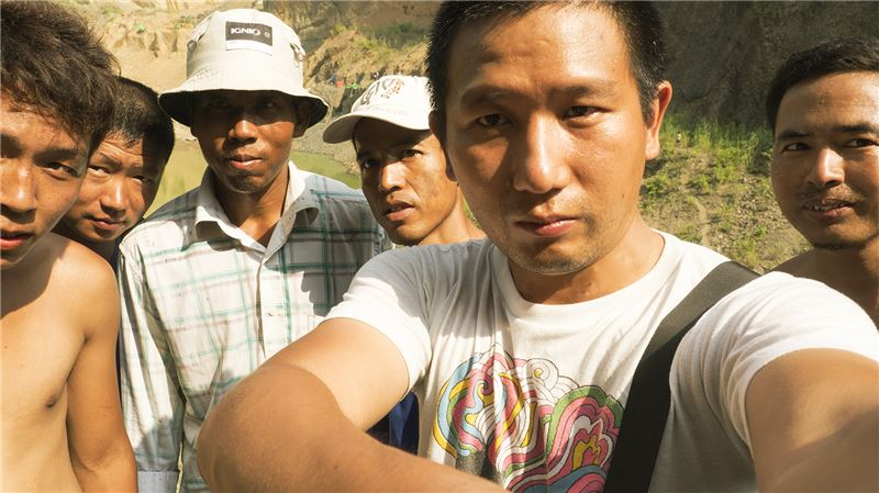 a more personal film that explores his elder brother's struggles as a jade miner.