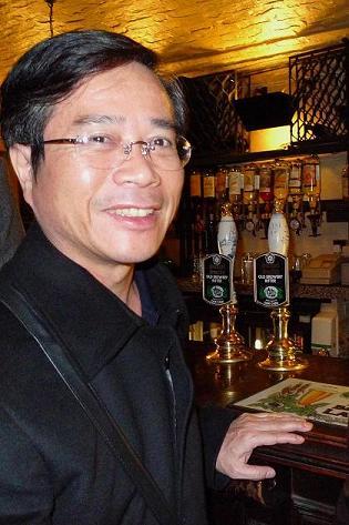 Photo of Li Qinan (Li Khin-huann) (Source: Li Qinan)