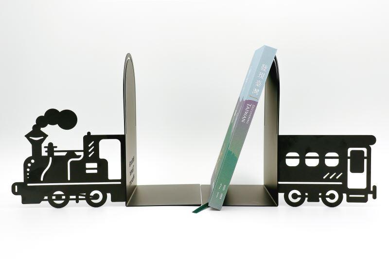騰雲號-造型金屬書擋