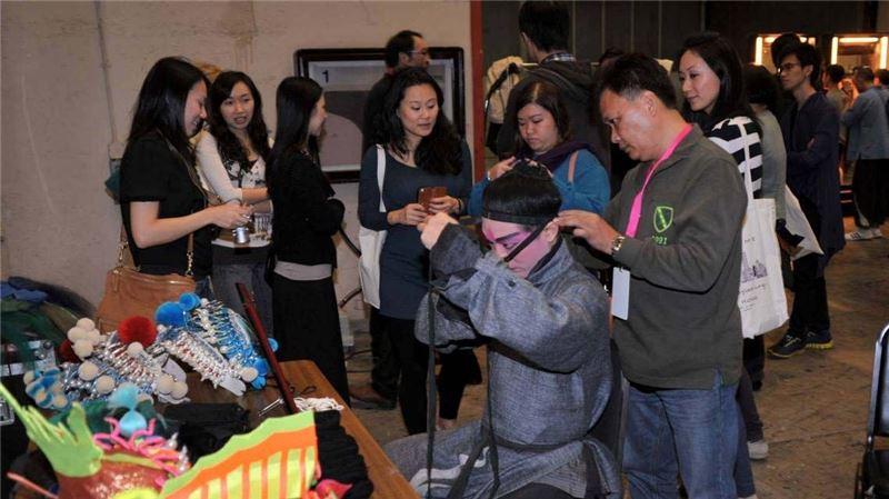 11月17日香港文化中心演出前後台導覽