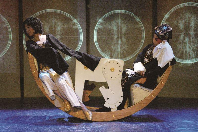 《小船幻想詩》排演劇照。