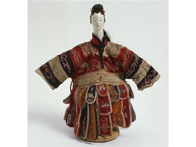 傳統布袋戲偶