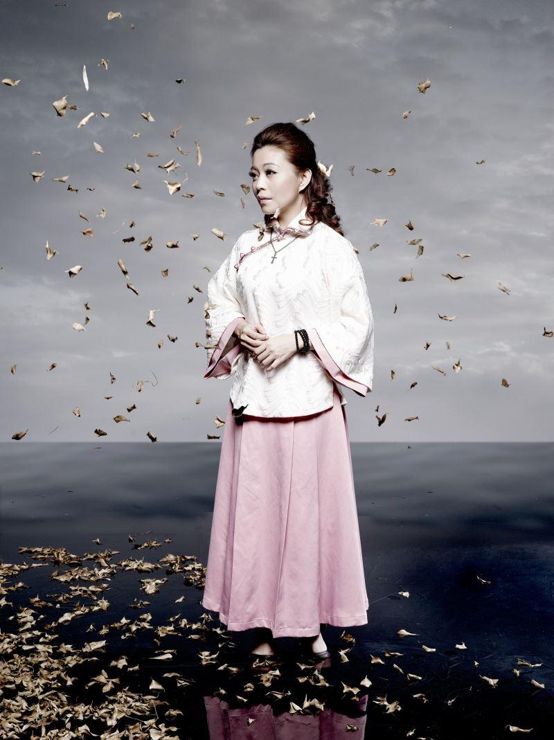 0524-0526秀琴歌劇團《安平追想曲》莊金梅飾思荷(照片由秀琴歌劇團提供)