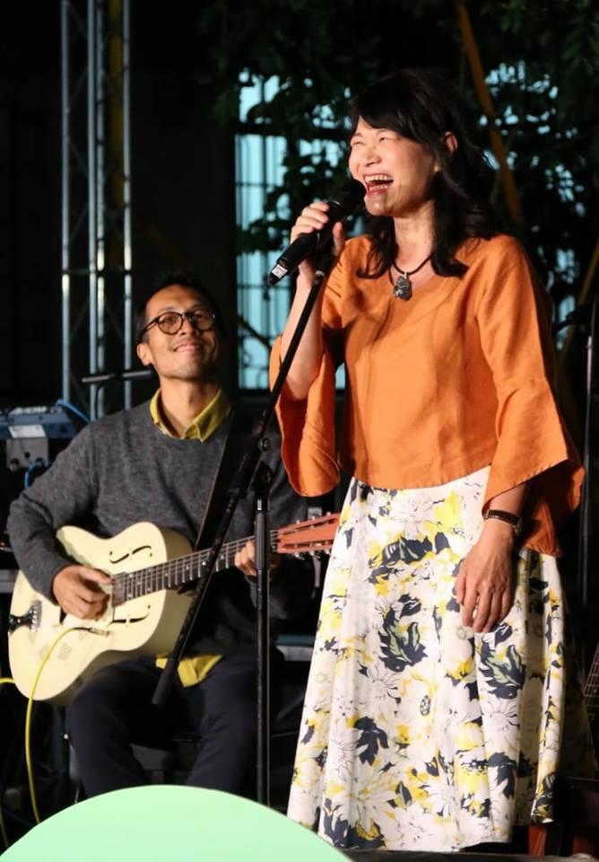 Hakka singer-songwriter Lo Sirong.