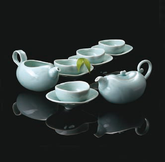 The Buds in Spring-Tea Set(ANTA POTTERY)