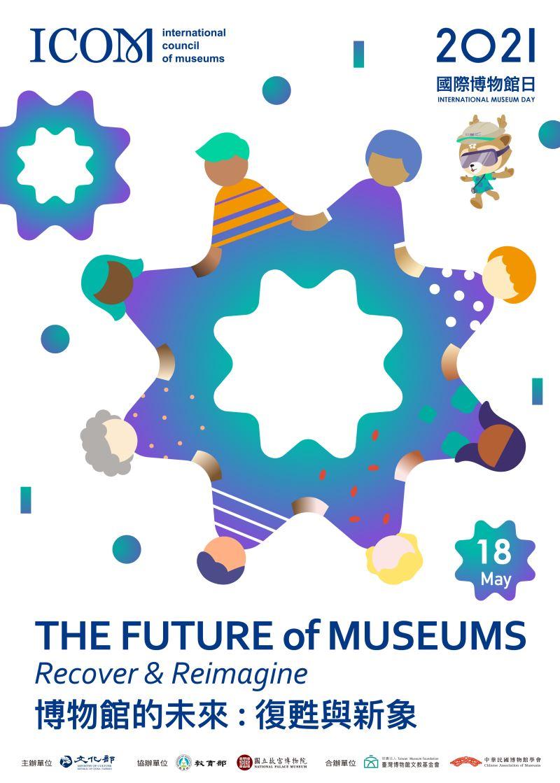 2021國際博物館日 博物館的未來:復甦與新象