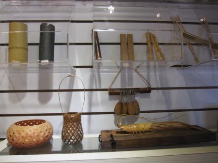 竹藝材料展示圖片