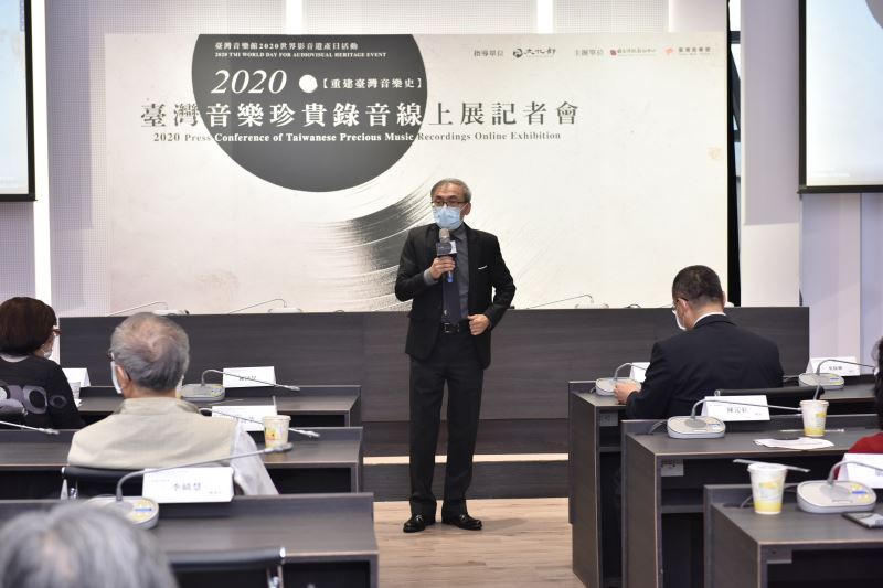 國立傳統藝術中心主任陳濟民致詞