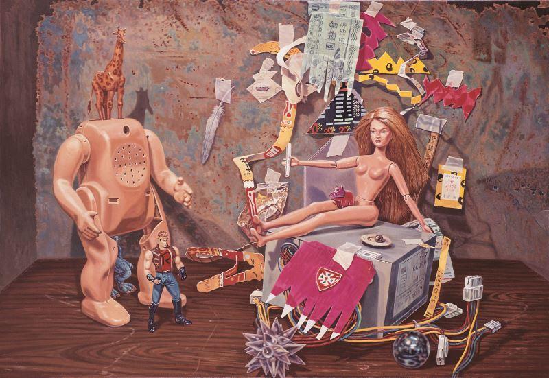 Chien-Hsin Lien 《Blond Barbie Love Situation》(2006)
