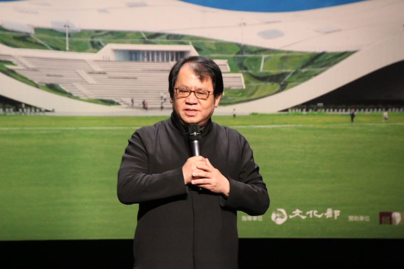 國家表演藝術中心董事長朱宗慶期許國表藝旗下的國家兩廳院、臺中國家歌劇院、衛武營國家藝術文化中心成為鼓勵團隊與藝術家全力開創與實現夢想的場域。