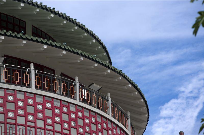 臺北分館琉璃瓦重簷