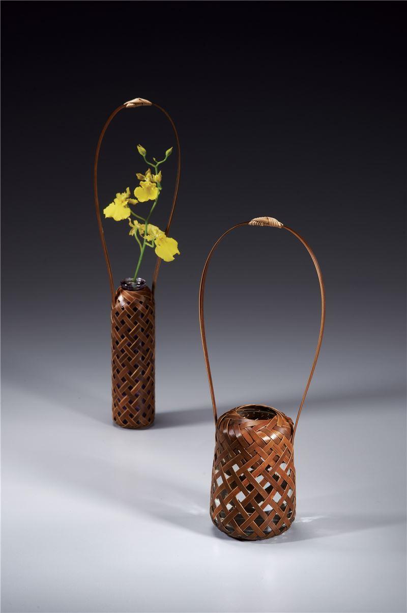 2013年入選作品 竹編花器