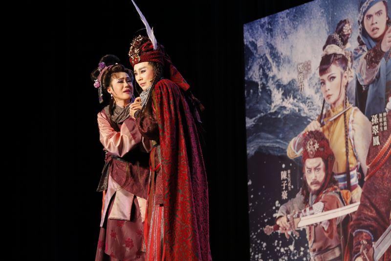 孫翠鳳、陳昭婷母女同檔,攜手演出鄭芝龍與一生真愛生死兩隔感人劇情