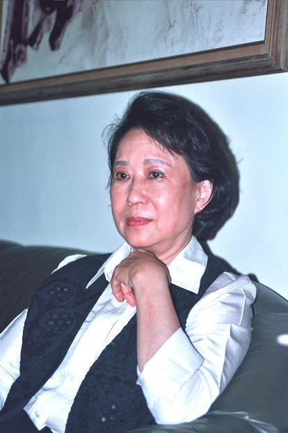 林文月肖像照(來源/文訊雜誌社)