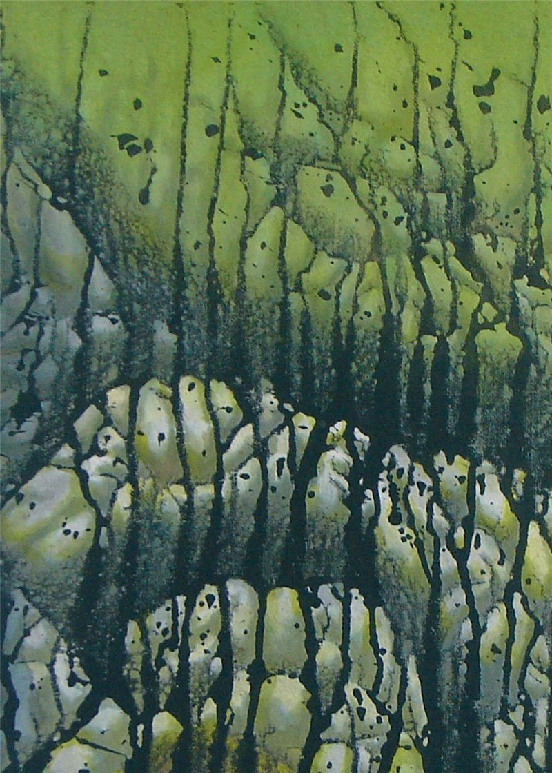 黃朝湖〈凝視的時空〉局部圖