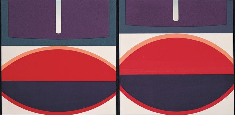Lee Shi-chi〈Original Position II (Circle) 〉Detail