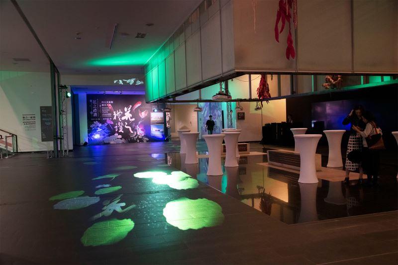 花之禮讚ー—四大美術館聯合大展」貴賓之夜之1