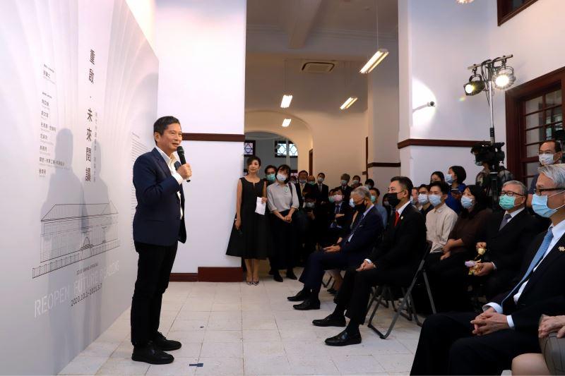 文化部長李永得出席新竹州圖書館開幕