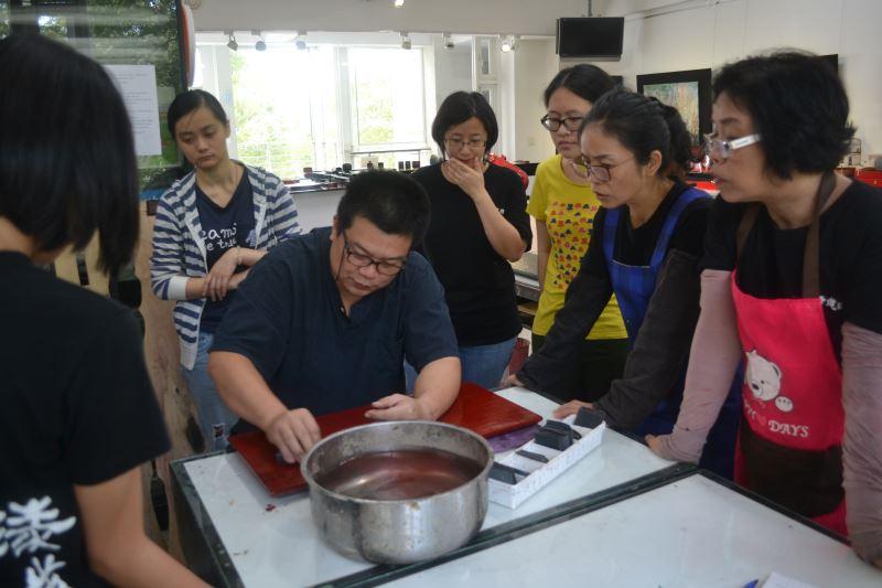 漆藝工藝教學-茶道具組製作