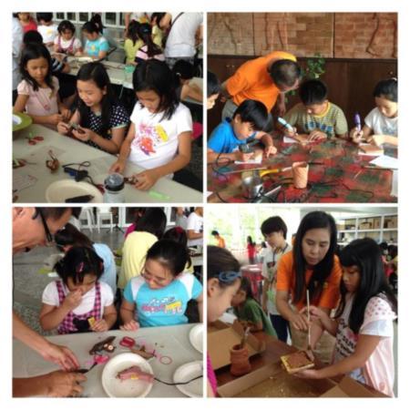 2013兒童工藝夏令營-磚雕課程真有趣