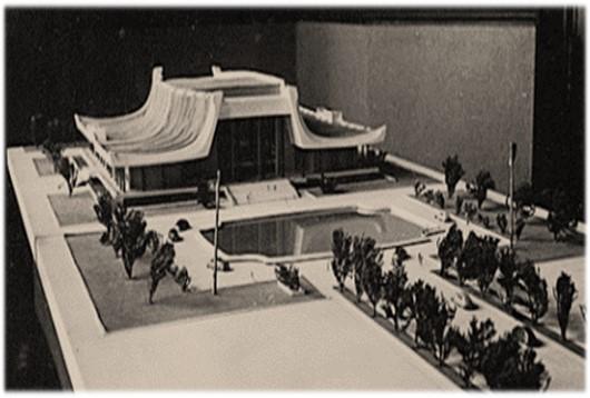 國父紀念館王大閎建築設計模型