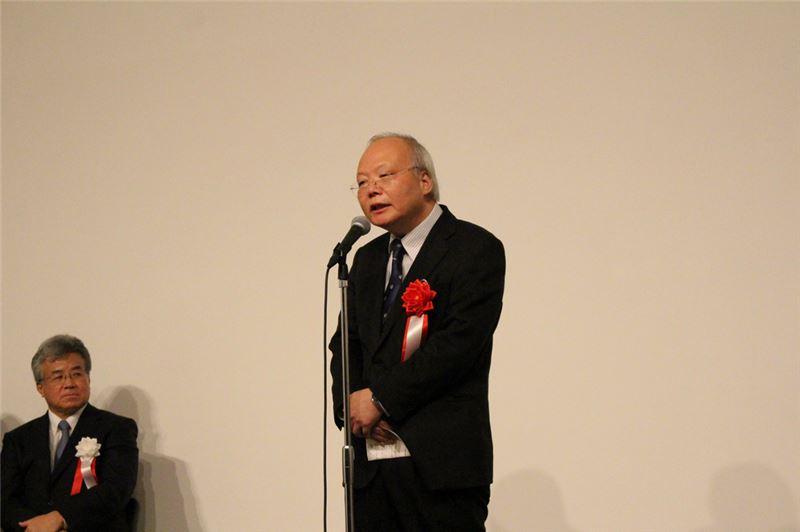 開幕-臺灣駐日經濟文化代表處副代表郭仲熙致詞