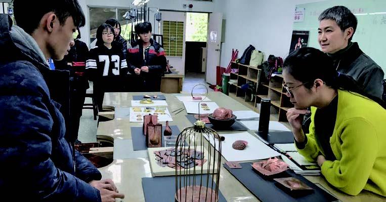Metalworking Courses at Crafts & Desgin Department, National Taiwan University of Arts