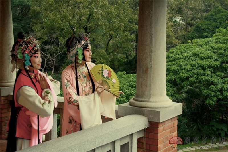 "A scene from "" Peony Pavilion: An Excursion in the Garden""by Lanting Kun Opera Troupe (2012)"