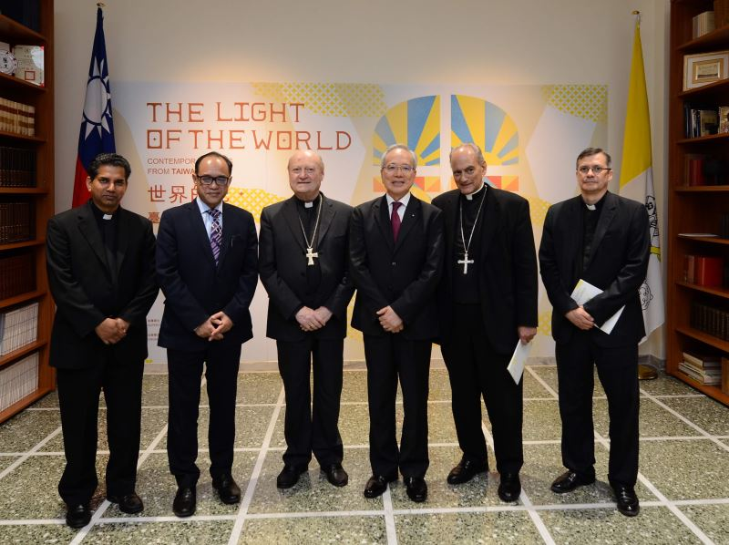Dignitaries in attendance at the opening ceremony included Cardinal Gianfranco Ravasi, president of the Pontifical Council for Culture.