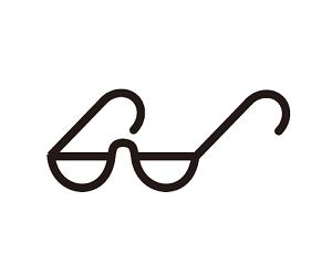 老花眼鏡的符號