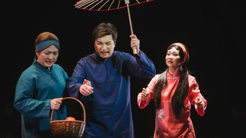 圖3:凍水牡丹用音樂刻畫三代母女情,唱出臺灣女人的愛與勇氣。
