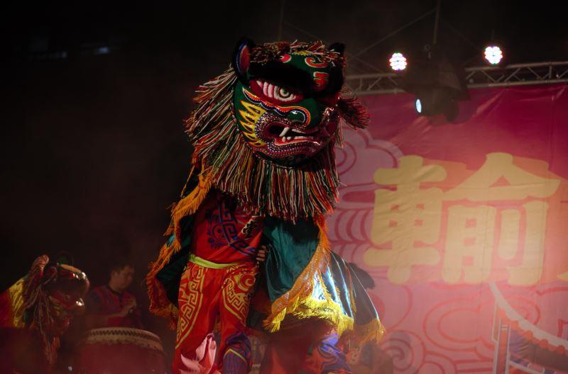 大肚山同仁堂透過《國姓爺傳奇》展現臺灣獅的魅力
