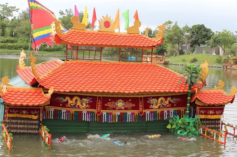 越南金龍水傀儡劇團