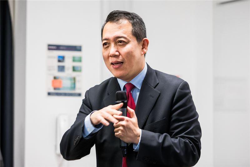 文化部楊子葆次長發表演說
