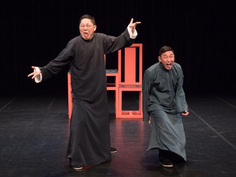 馮翊綱與宋少卿一起搭檔的劇碼都深受相聲愛好者歡迎。