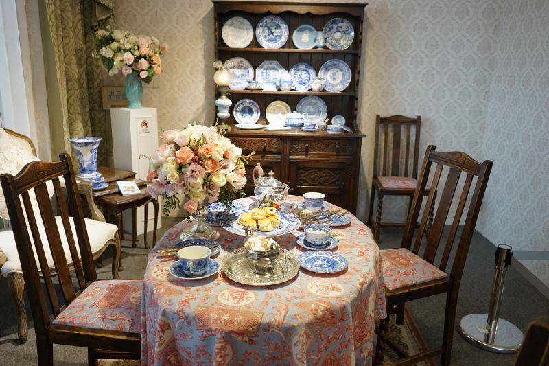 英國茶空間-藍廳