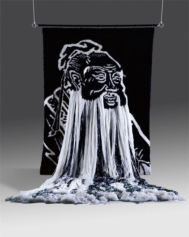 MEI Dean-E〈Confucius' Confusion〉2003 Nylon yarn 250×180×400 cm