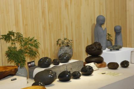1F進駐工坊陳設-石藝作品展示