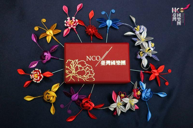人間國寶的相遇~春仔花,由陳惠美以纏花寓意廖瓊枝的生命歷程。
